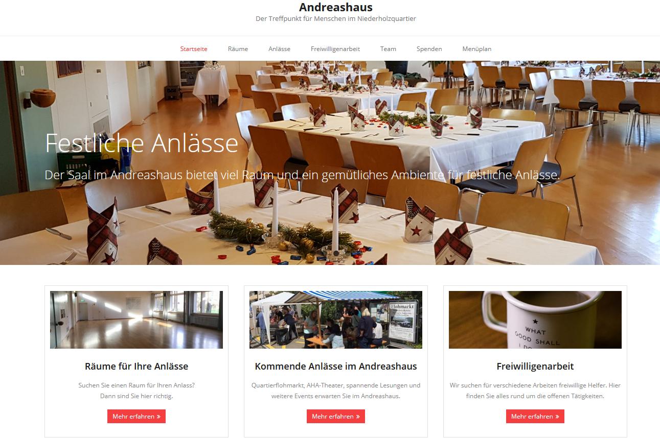 Website Andreashaus